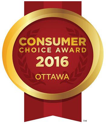 Centurion Center Consumer Choice Award Ottawa